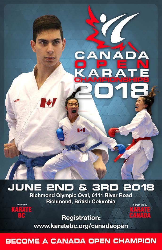 2018 Canada Open Karate Championships – Karate BC